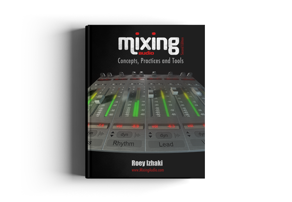 Mixing audio book cover